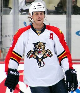Panthers alternate captain Stephen Weiss. (Photo Credit: Wikipedia)